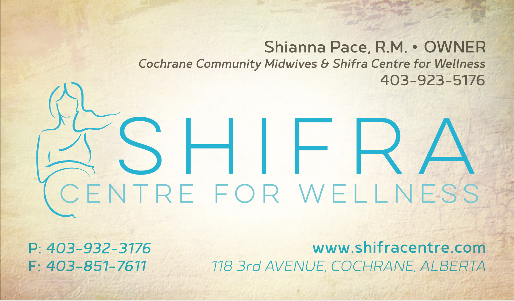 Shifra Business Card