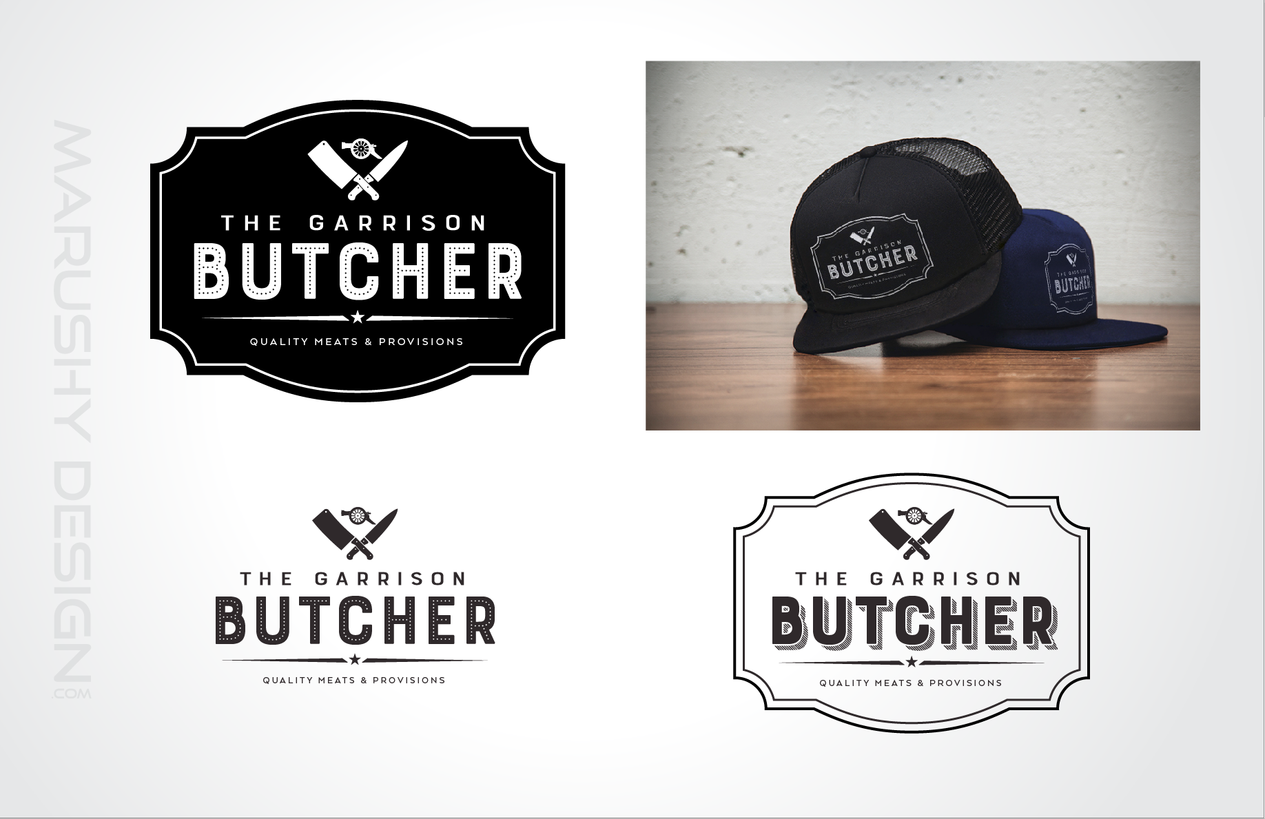 Garrison Butcher Logo