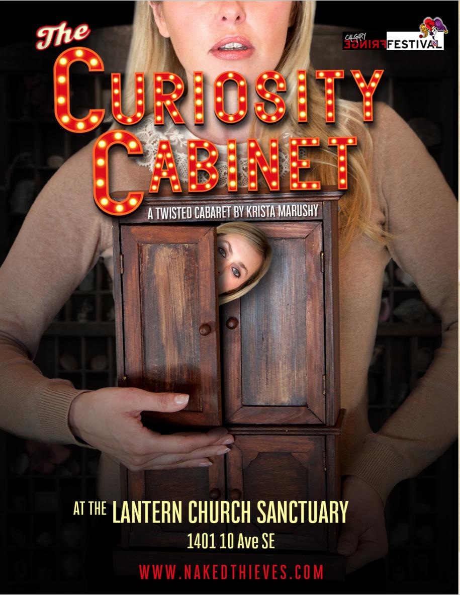 Curiosity Cabinet Postcard