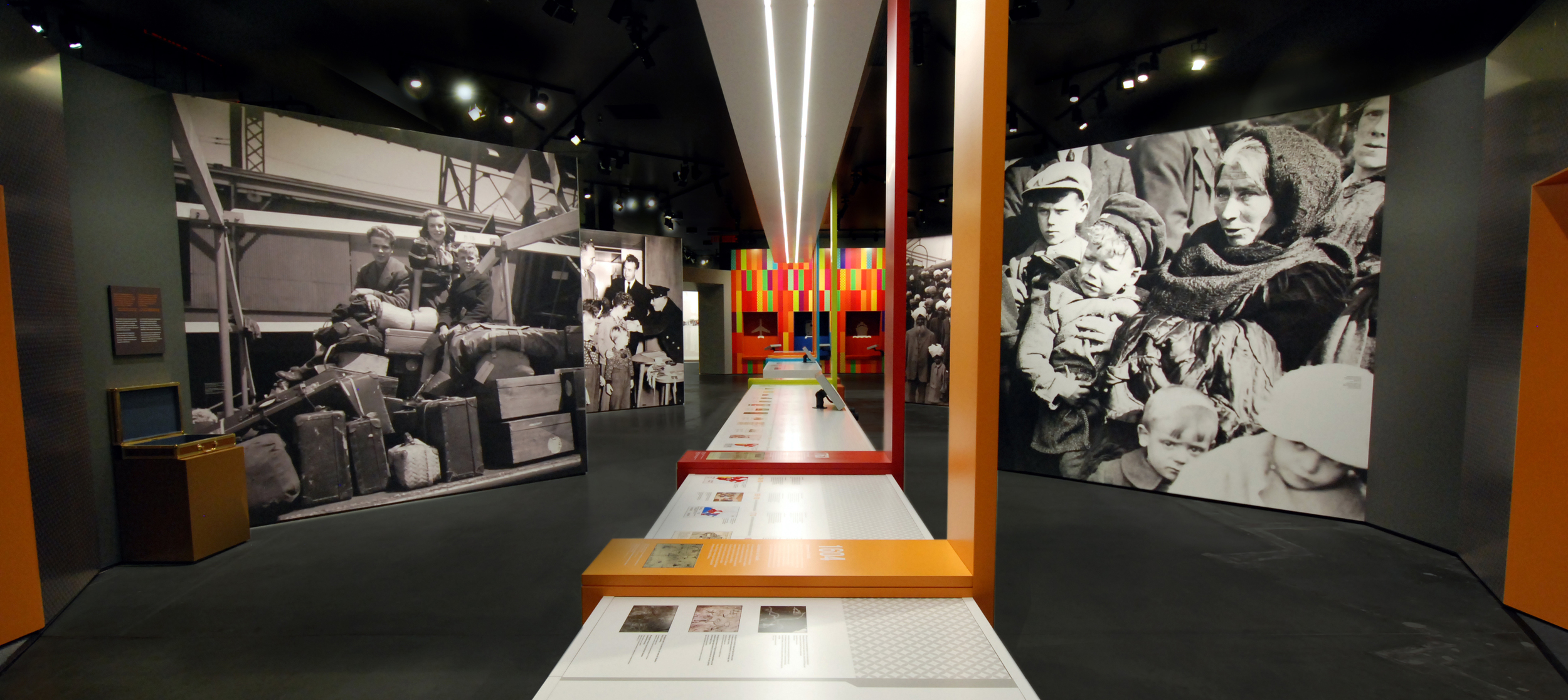 Journey theme in the Canadian Immigration Story, Canadian Museum of Immigration at Pier 21