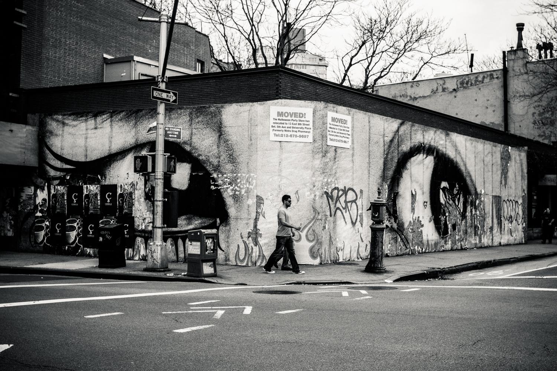 Mural in west village, NYC shot a few months ago