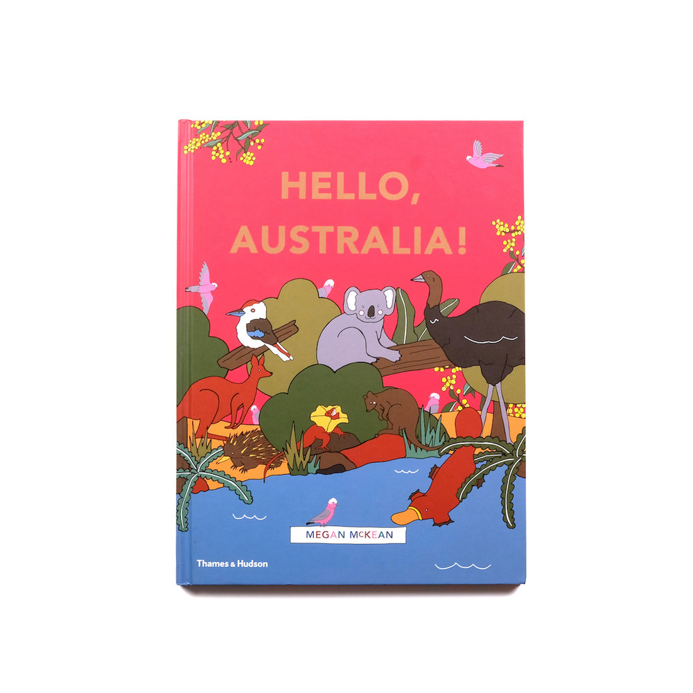 Hello, Australia! Book by Megan McKean