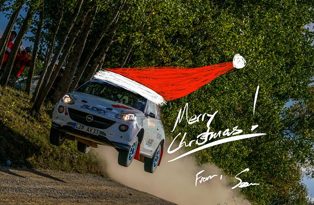 Merry Christmas, everybody! Today I've been thinking back on a year full of incredible lessons and gifts, in particular my committed jump into the crazy world of rallying.  I'm so grateful for this sport, and for all the hard work and fun had with @alexkihurani and @audex.motorsport!  While I'm sad to not be home in California this Christmas, I'm excited to be here in Germany, working hard putting things in motion for a huge and exciting 2019 season.. Plans aren't quite ready to talk about yet, but hopefully we'll have some news to share by mid-January :) In the meantime, enjoy some quality time with family and friends!  #christmas #rally #rallycar #gratitude #jump #sendit #family #friends #weihnachten #rallye #dankbar #ilovethissport
