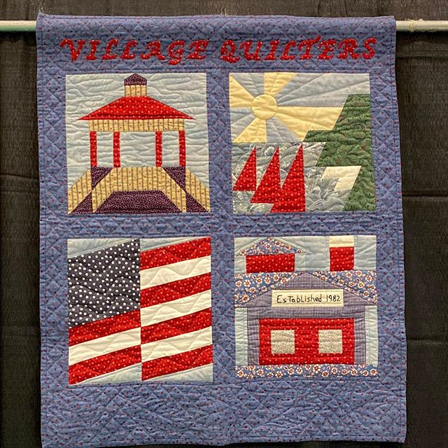 Quilts from the Village is now open! 270 quilts are on display at the Libertyville Sports Complex from 9 am to 5 pm.  #vqshow2019 #QuiltsfromtheVillage #sewing #quiltshow #VillageQuilters #quilting #quilts #VillageQuiltersLBLF