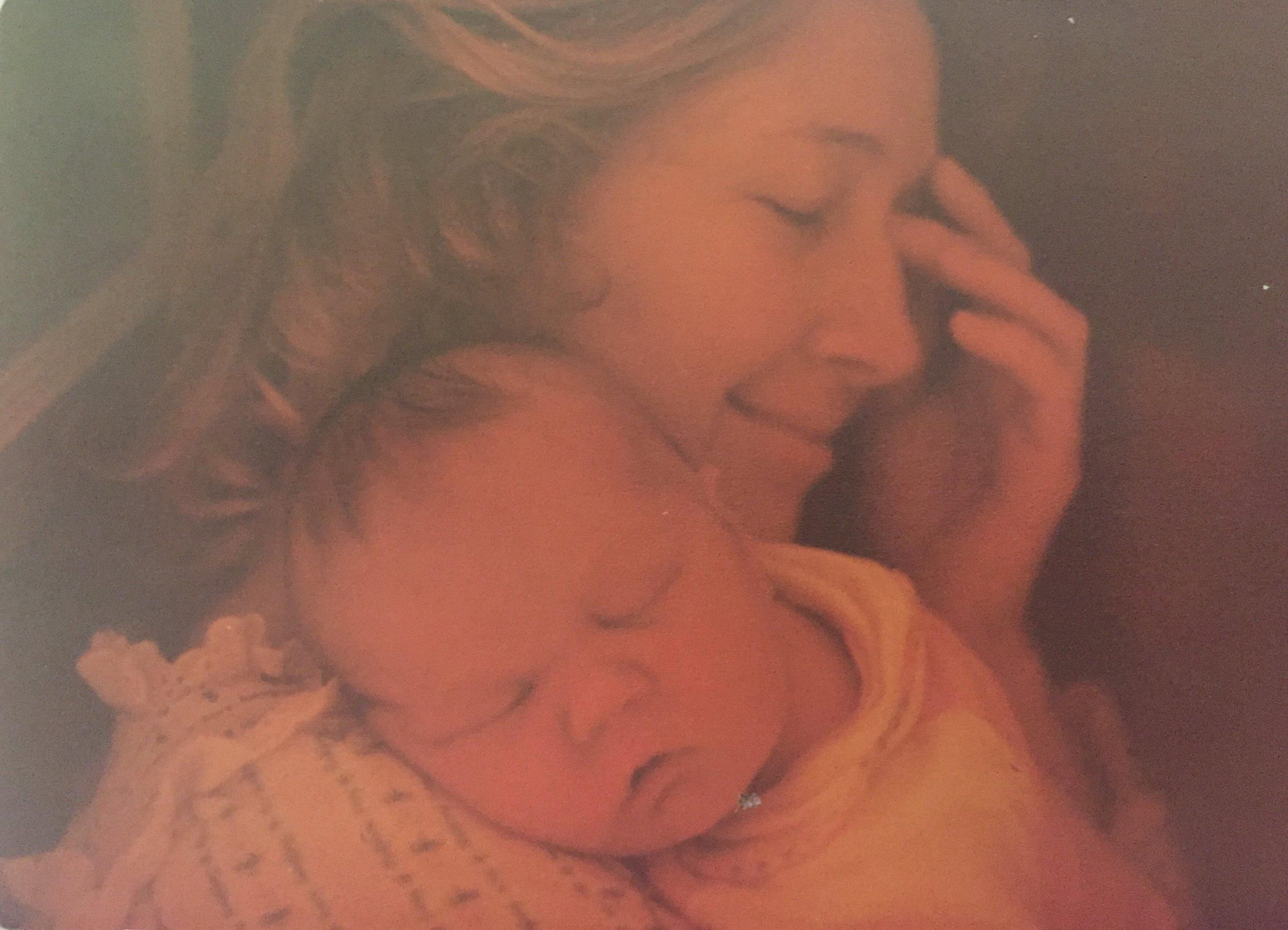 Little Baby SUzie, First Day OF Life. La MEsa, CA 1978