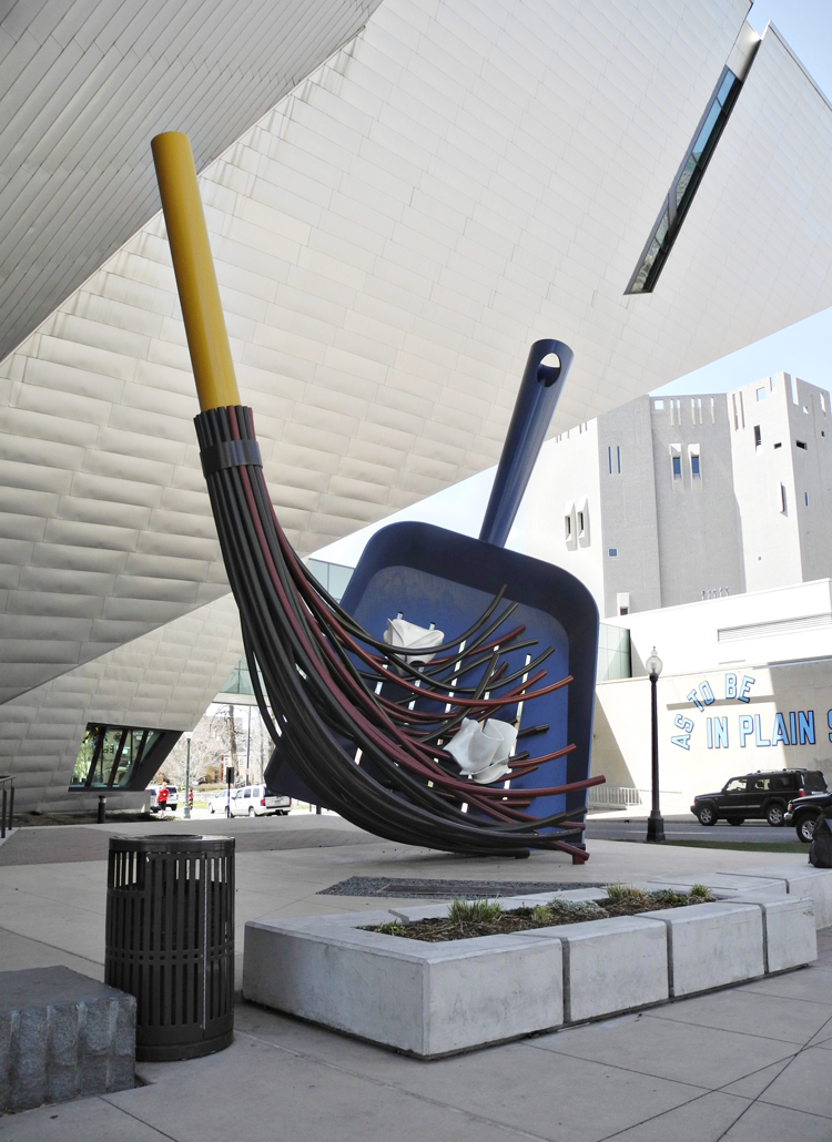 The Big Sweep // By Claes Oldenburg and Coosje van Bruggen