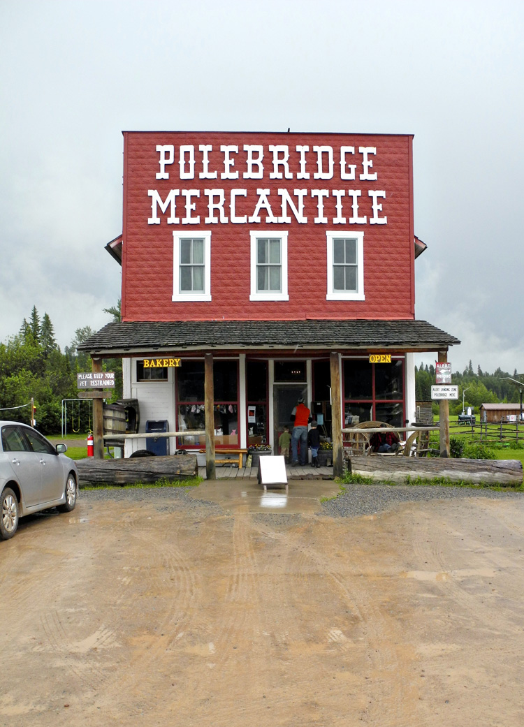Polebridge Mercantile // Best huckleberry bear claws around! // Near Glacier National Park // Montana