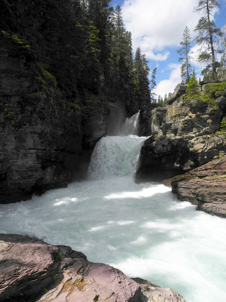 St. Mary Falls // Sun Point Nature Trail  // Glacier National Park, MT