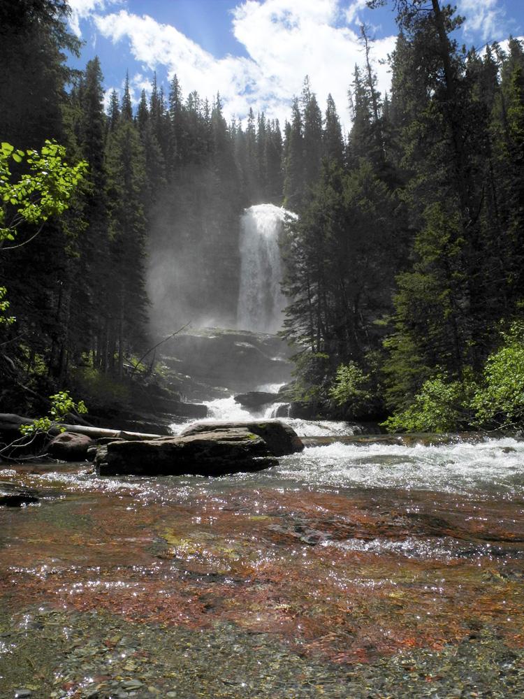 Virginia Falls // Sun Point Nature Trail // Glacier National Park, MT