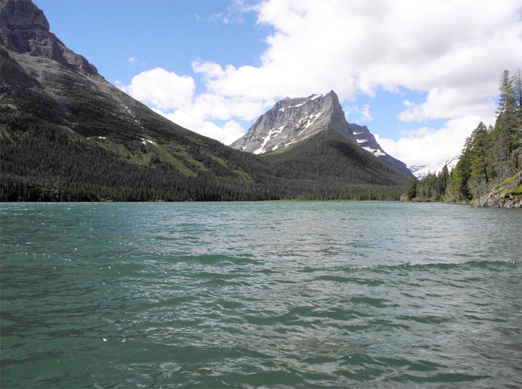 St. Mary Lake // Sun Point Nature Trail  // Glacier National Park, MT