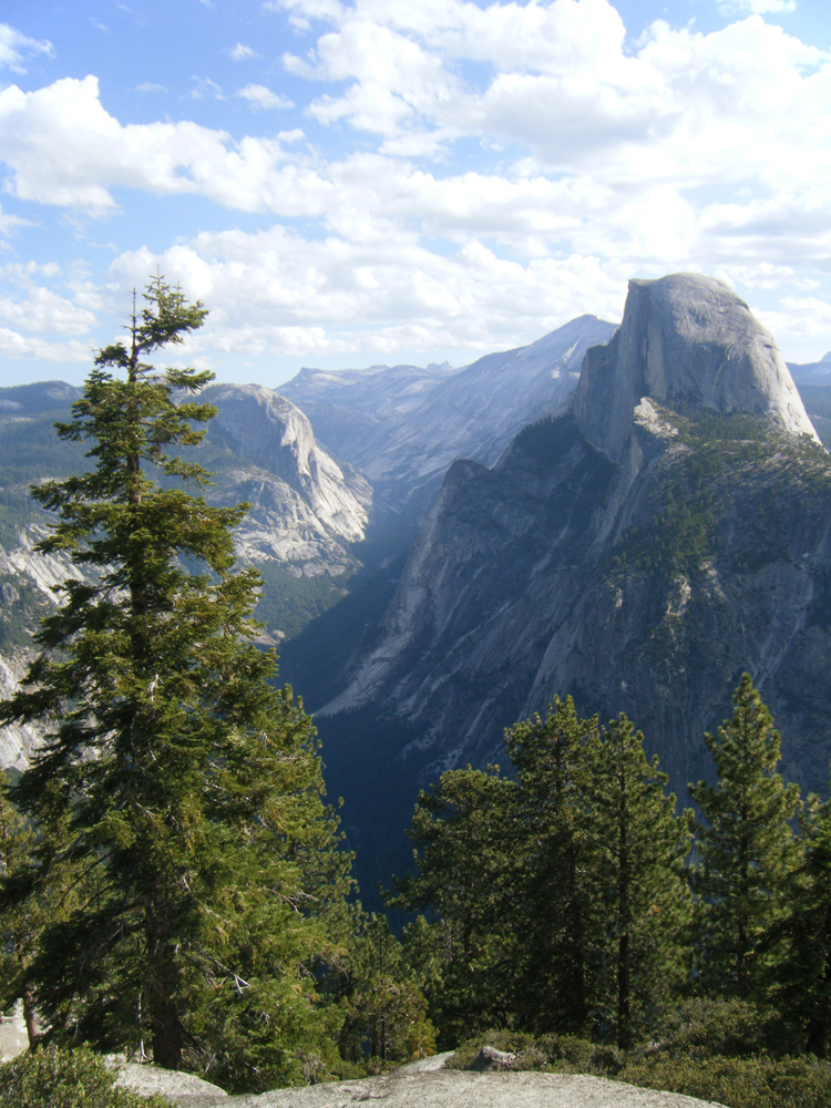 The inspiring view from Glacier Point in Yosemite National Park - 2011