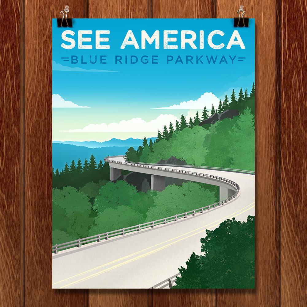 Blue Ridge Parkway by Jon Cain