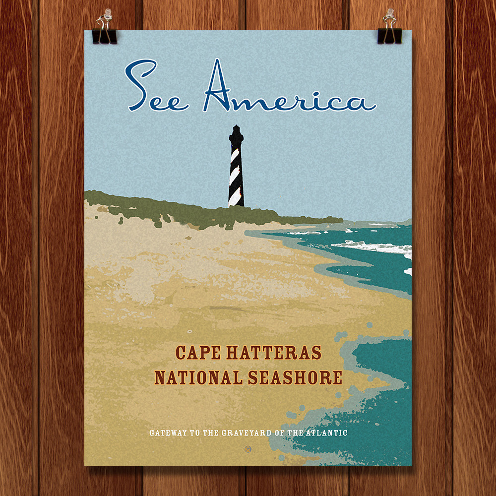 Cape Hatteras National Seashore by Ed Gaither