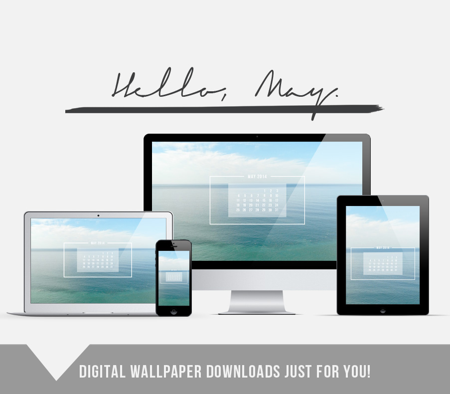 Free wallpaper download for May! // www.jenniferesnyder.com