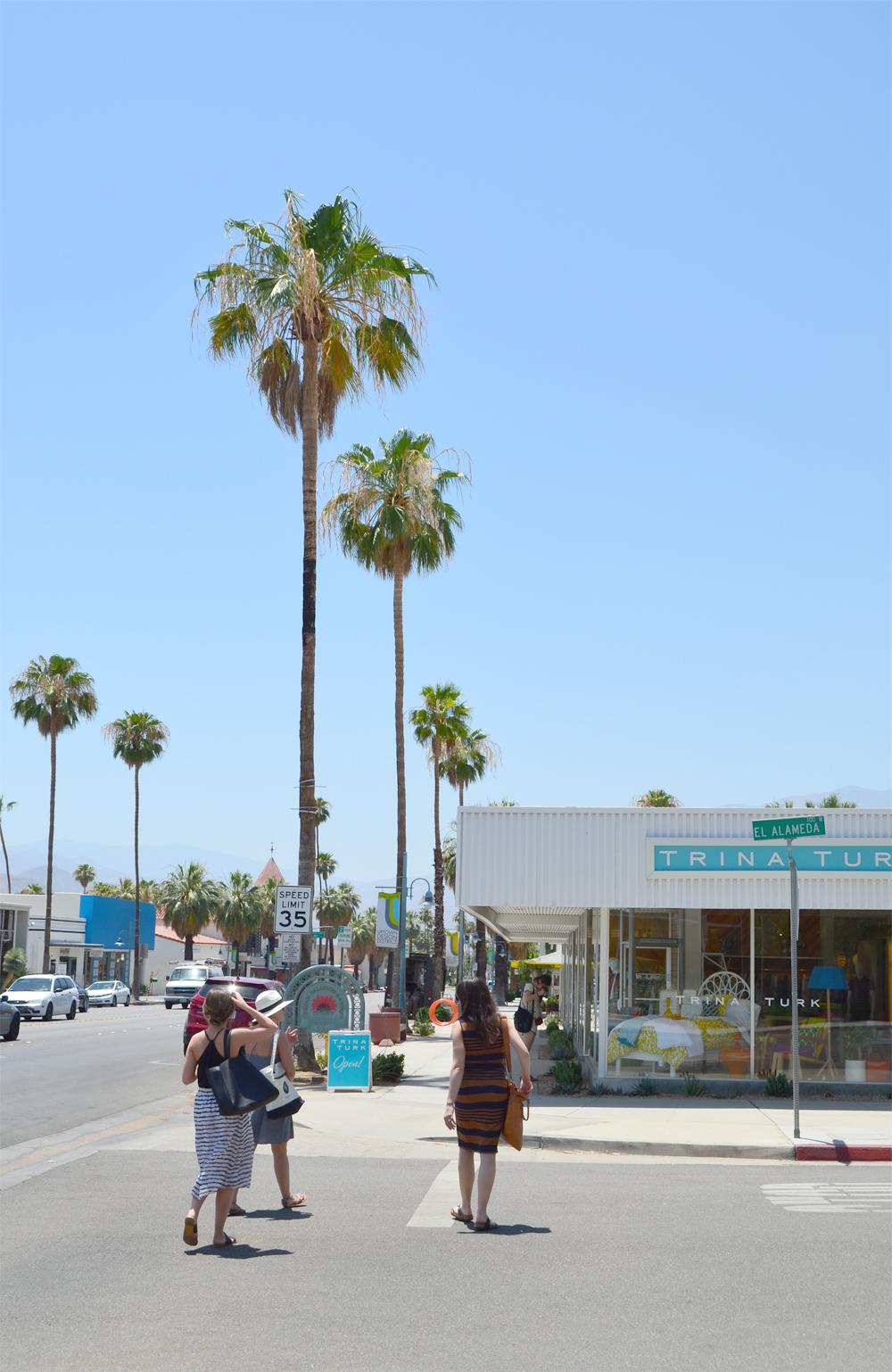 Palm Springs, California // Heading to Trina Turk