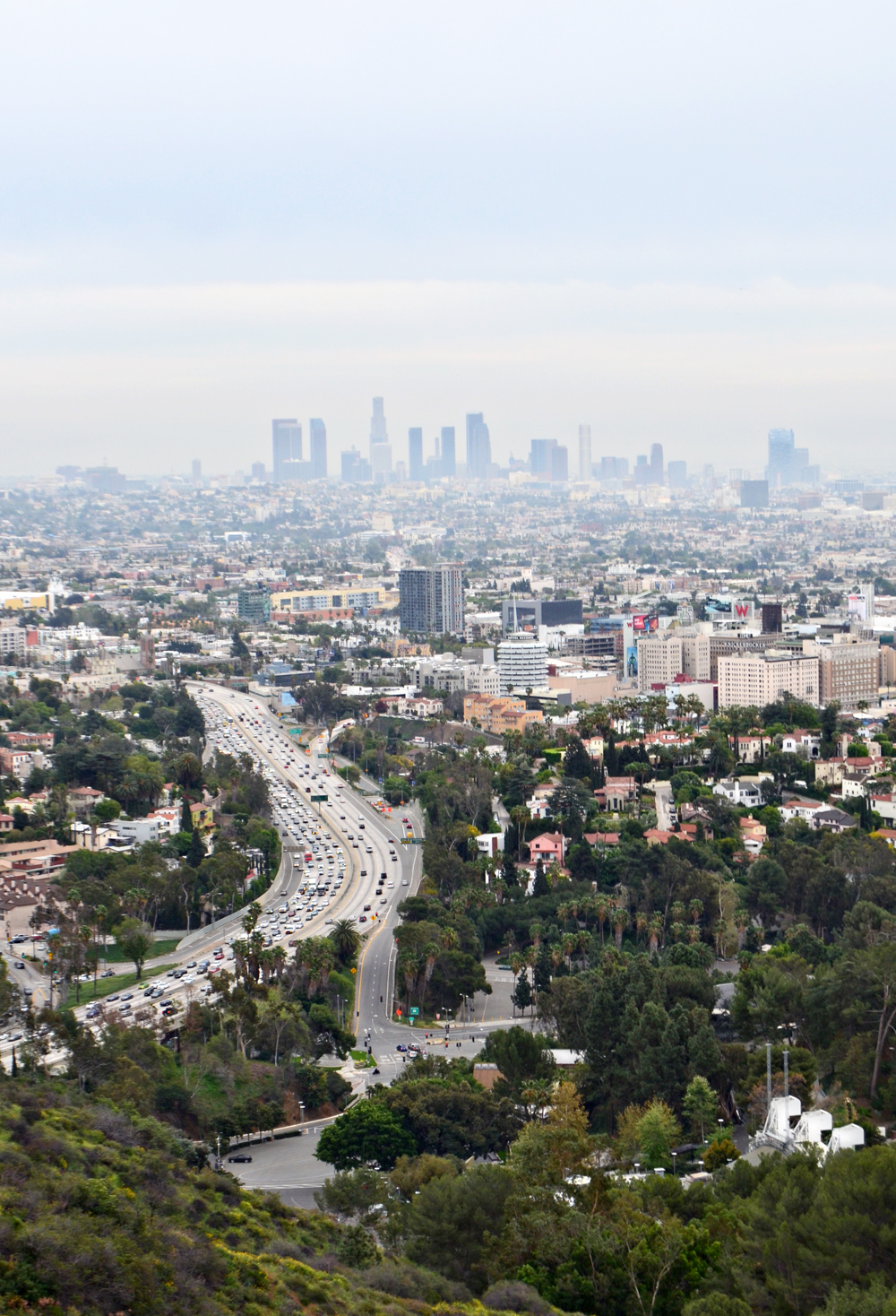 Los Angeles // Hollywood Bowl Overlook on Mulholland Drive