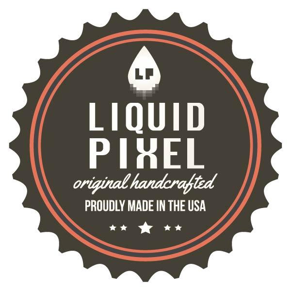Liquid Pixel Printing // West Sacramento, CA