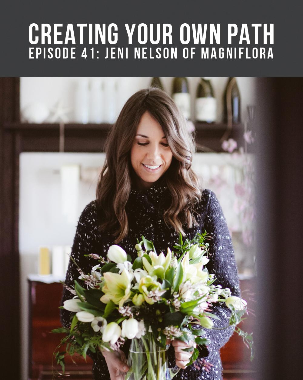 Jeni Nelson of Magniflora // Photo:  Mallory MacDonald