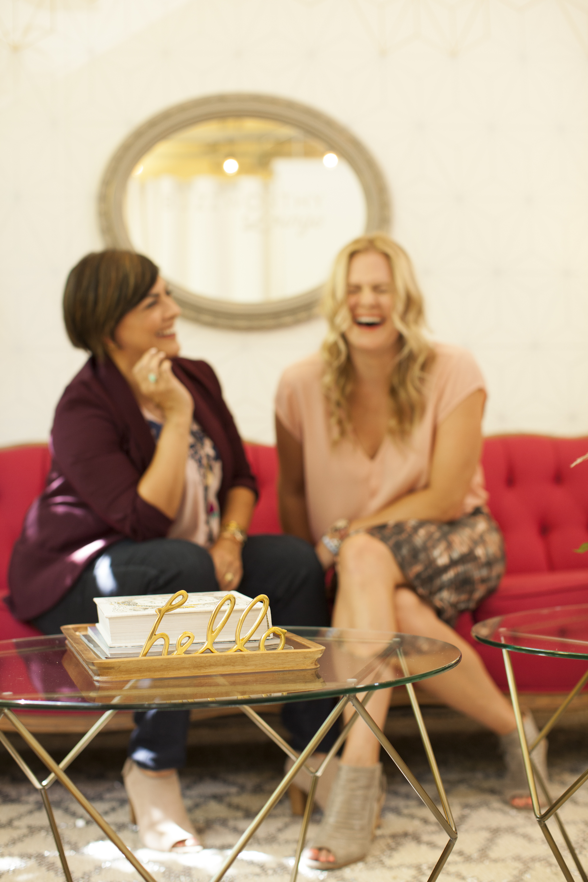 Photo: Rebecca Plumb + Megan Phillips of  Honey Agency  // By:  Michelle Drewes