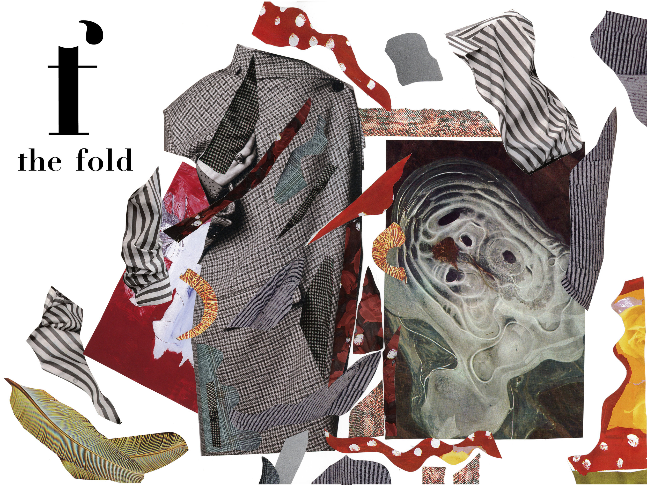 The Fold Mag  // Art by  Rosie Bowker