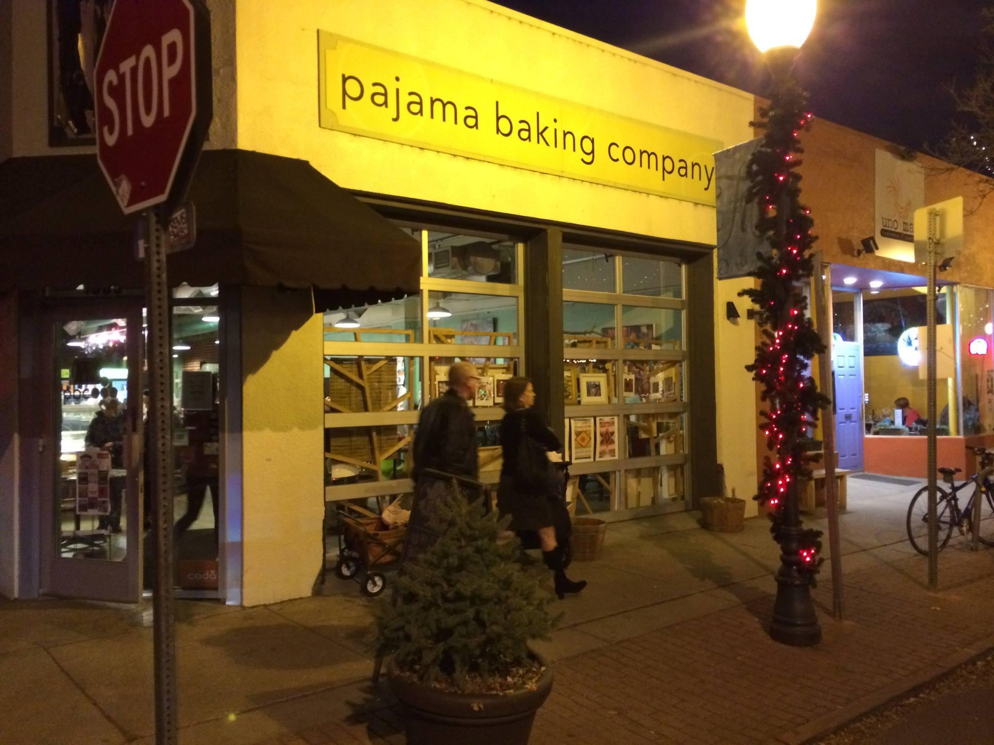 Pajama Baking Company on Pearl St.