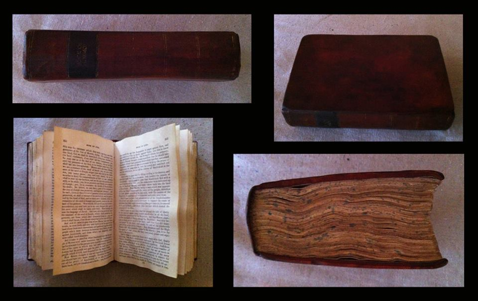 1830 First Edition Book of Mormon Facsimile