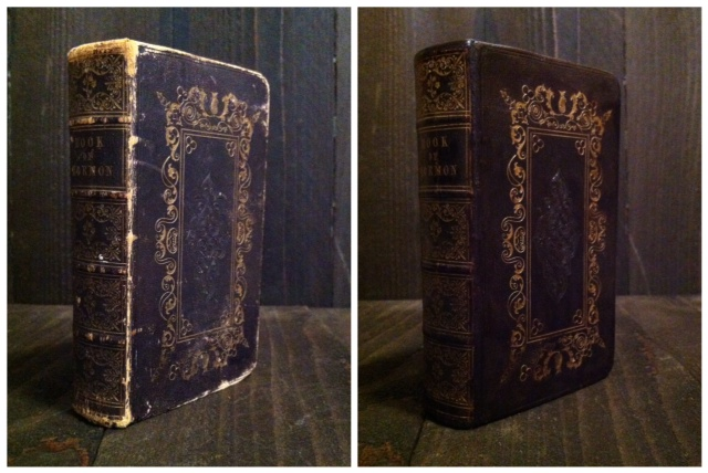 1850 Book of Mormon.