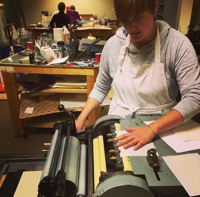 Process shots Kristin shared on Instagram #revolutionexchange2015.