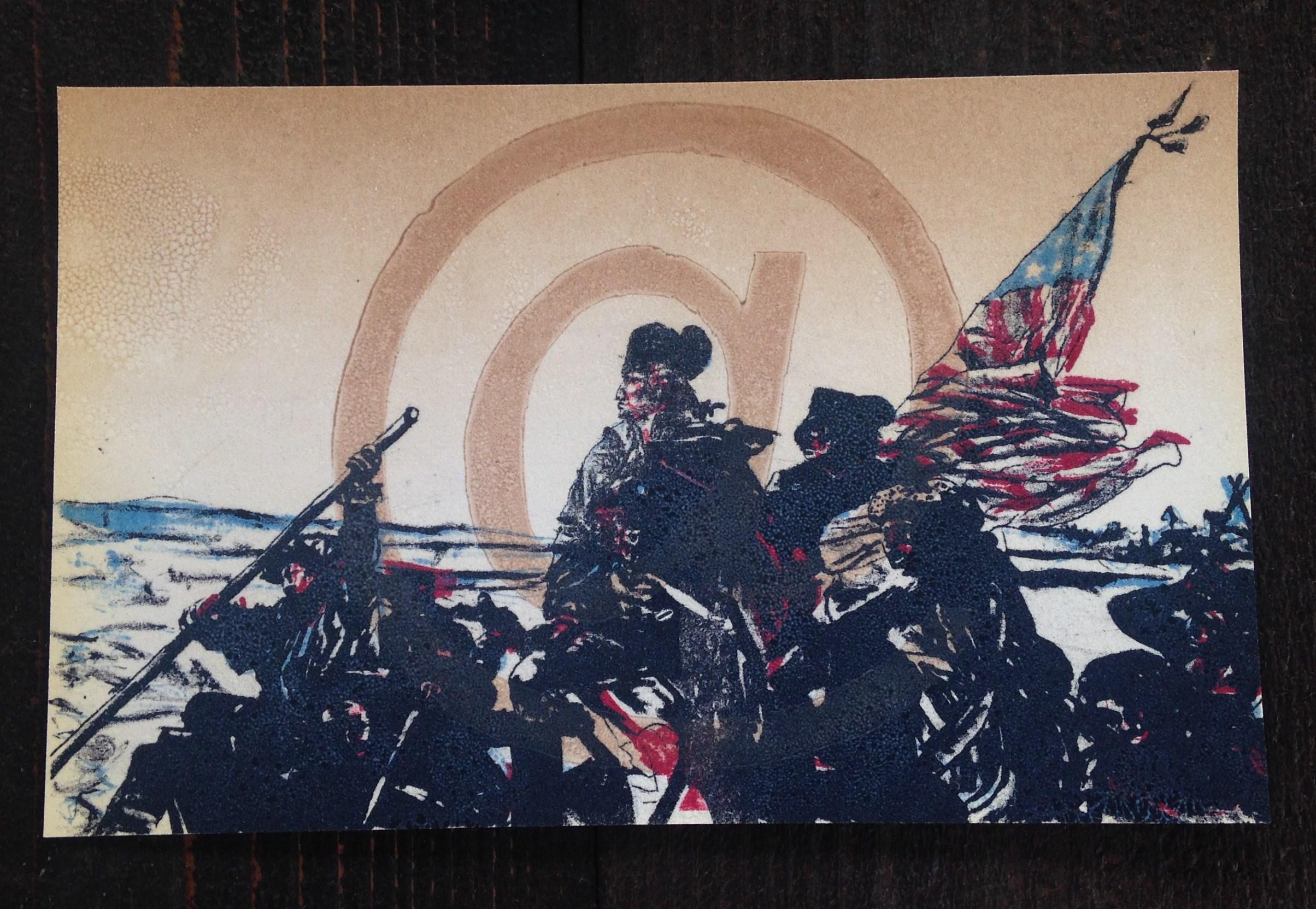 """@ Revolution"" by Erin Hoffman."