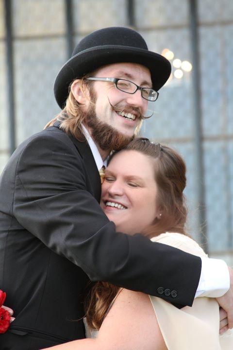 Favorite wedding photo. Ogden UT Masonic Temple, 2011.