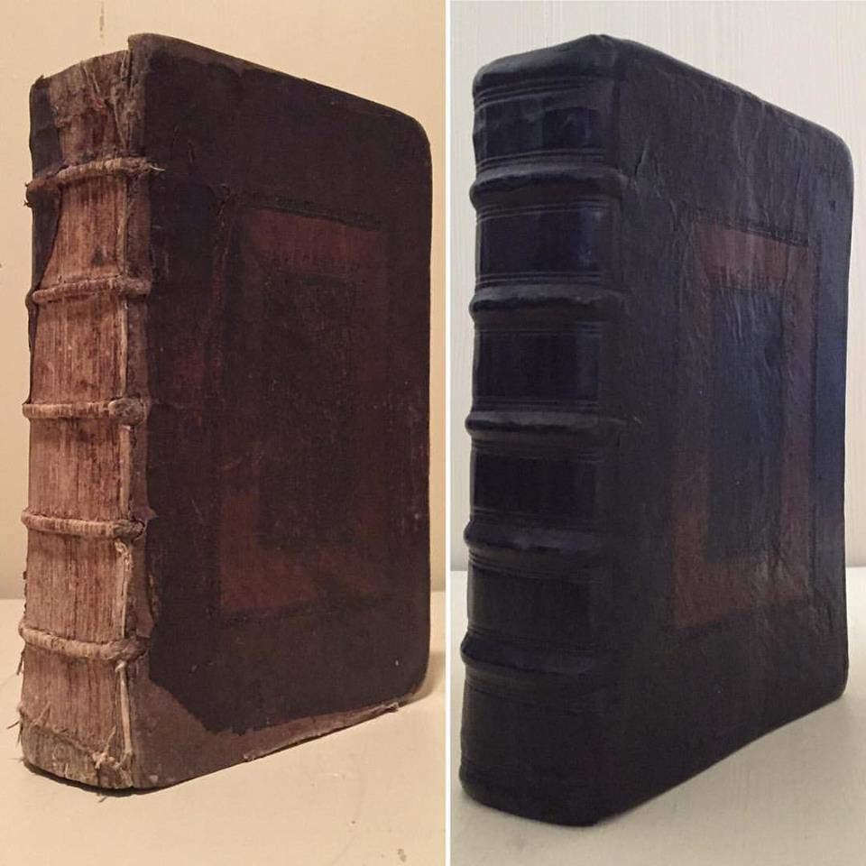1560 Geneva Bible Restoration.