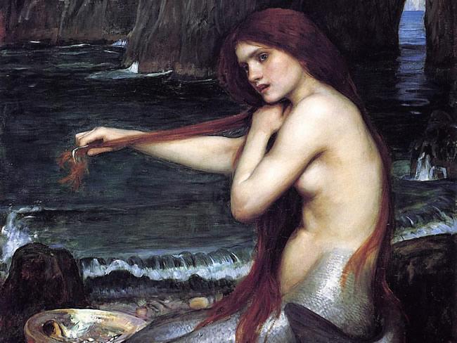 Painting by John William Waterhouse