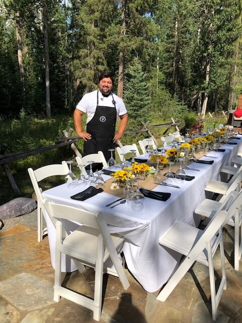 Chef Alec Graham from the Foley Food & Wine Society