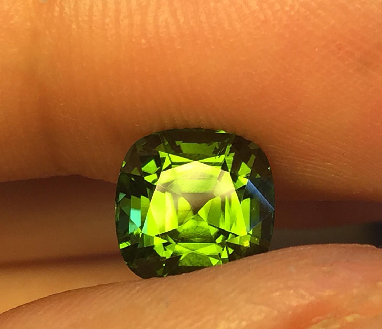 2.95ct Fine Green Tourmaline