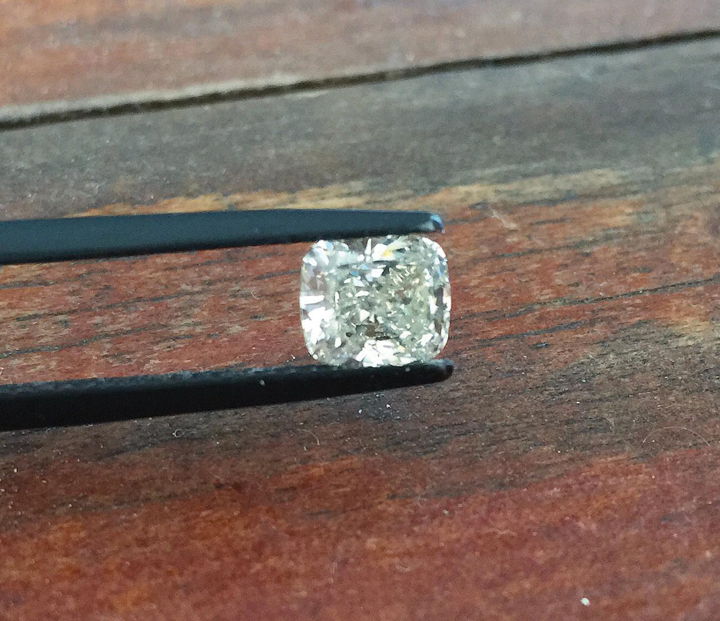 1.20ct Cushion Cut Diamond