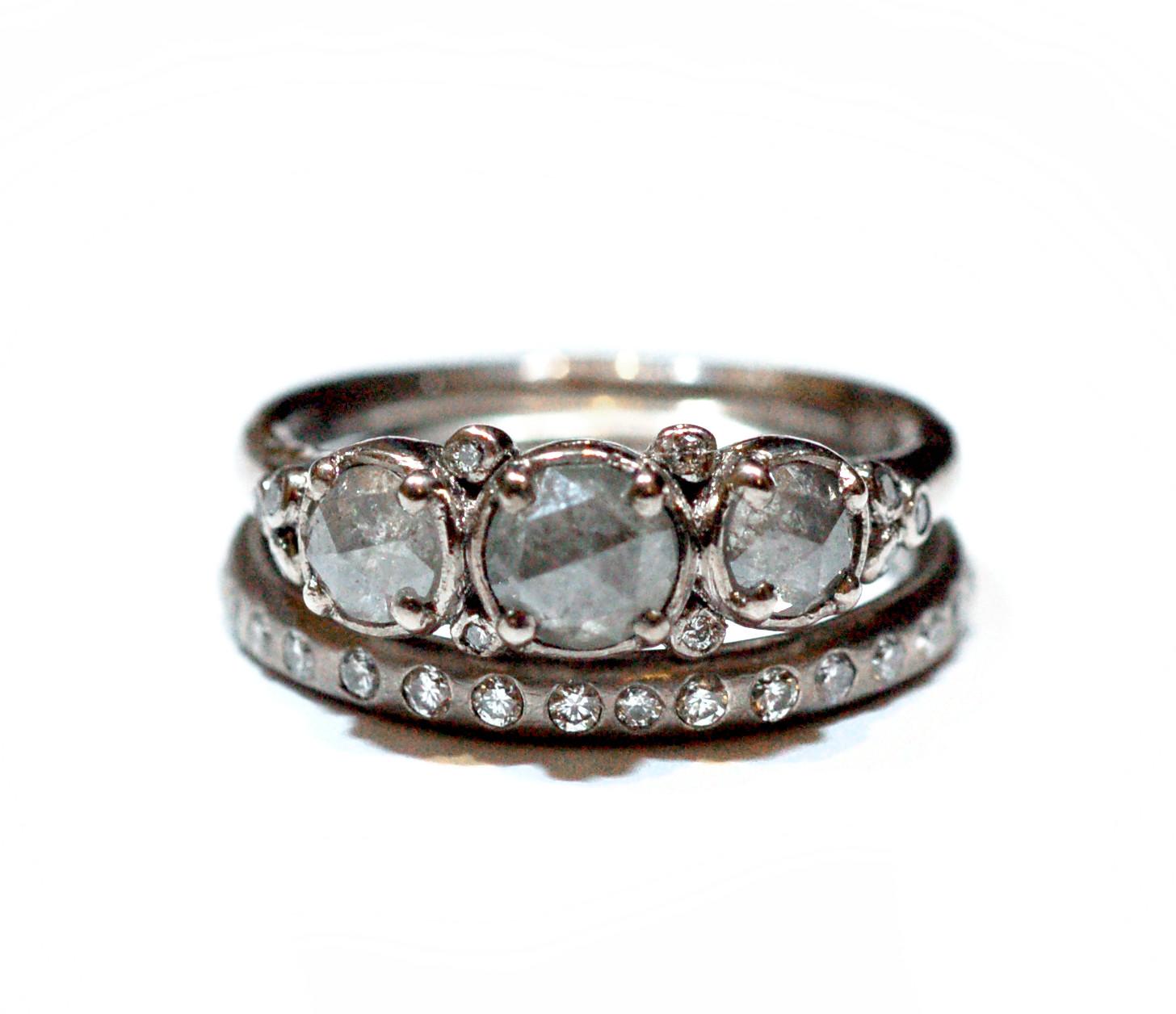 'Arctic Ice' Ring