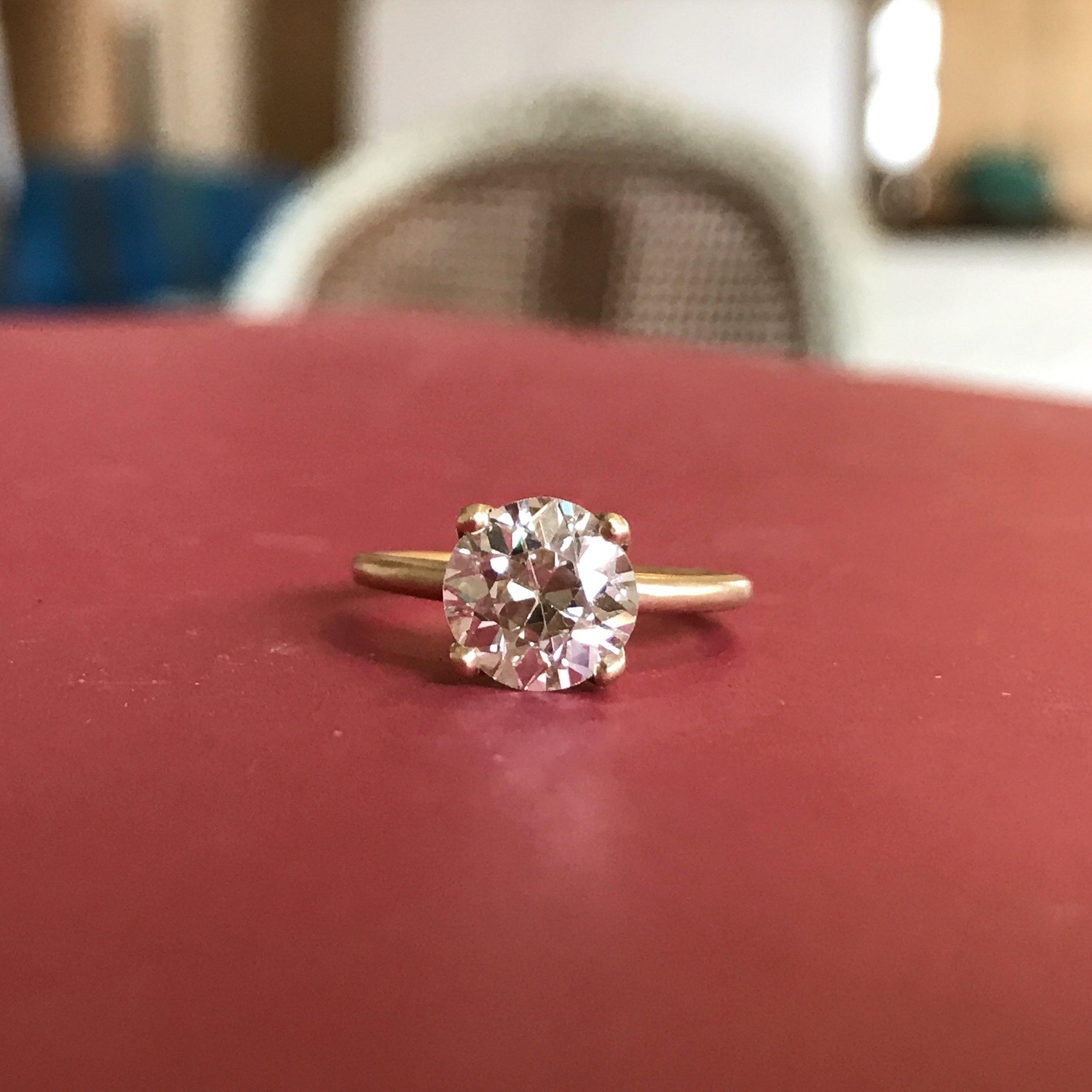 Old Cut Diamond