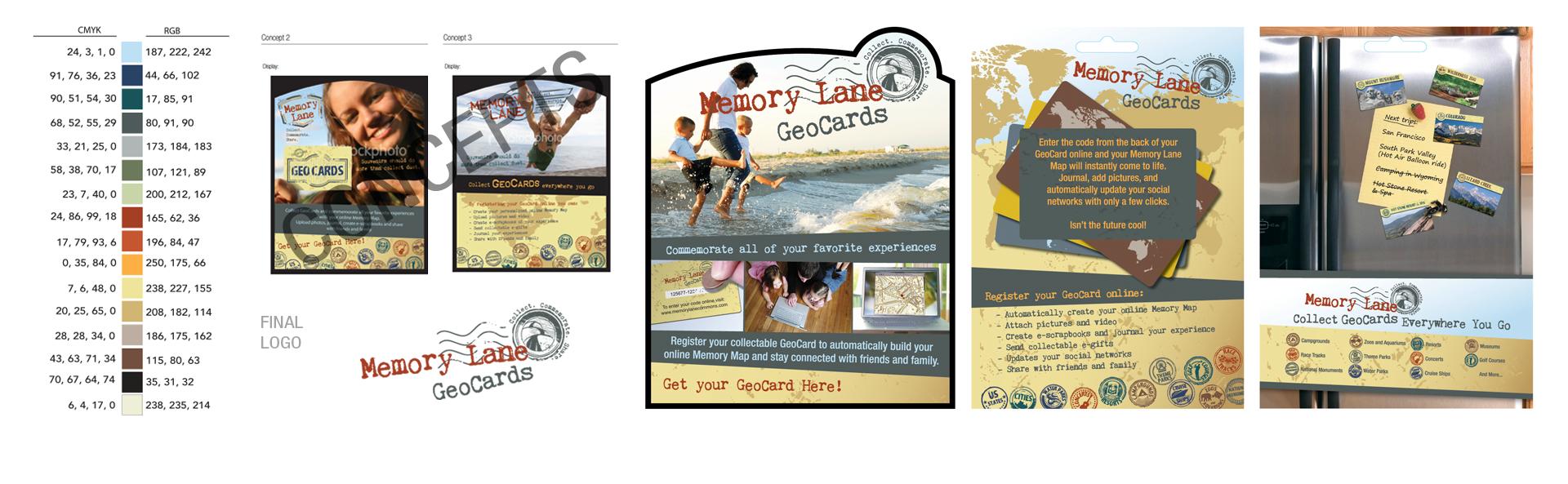 Memory Lane - Logo, Brand, Stamps, Product Displays & More