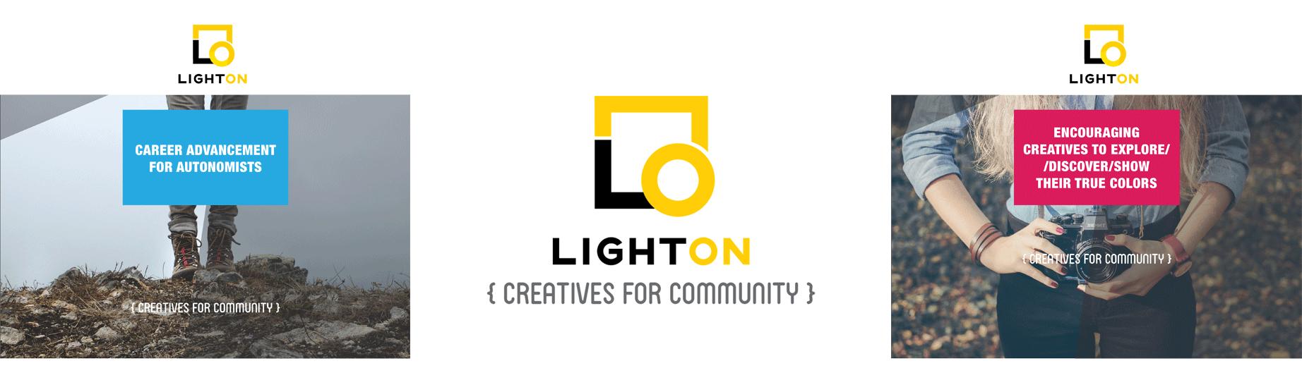Light On - Creatives for Community Brand Design