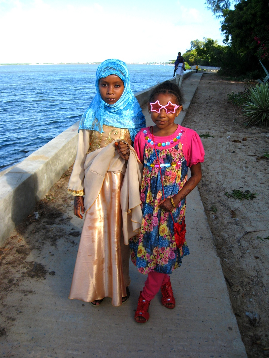 Children at Ramadan, Lamu, Kenya