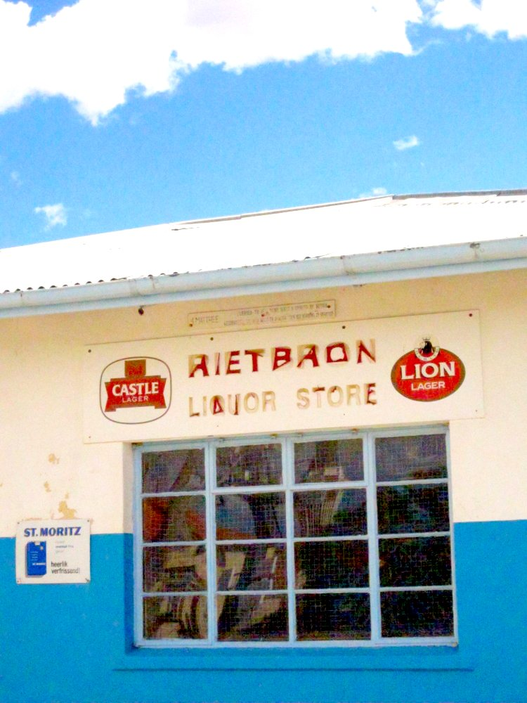 Liquor store, Rietbron, South Africa