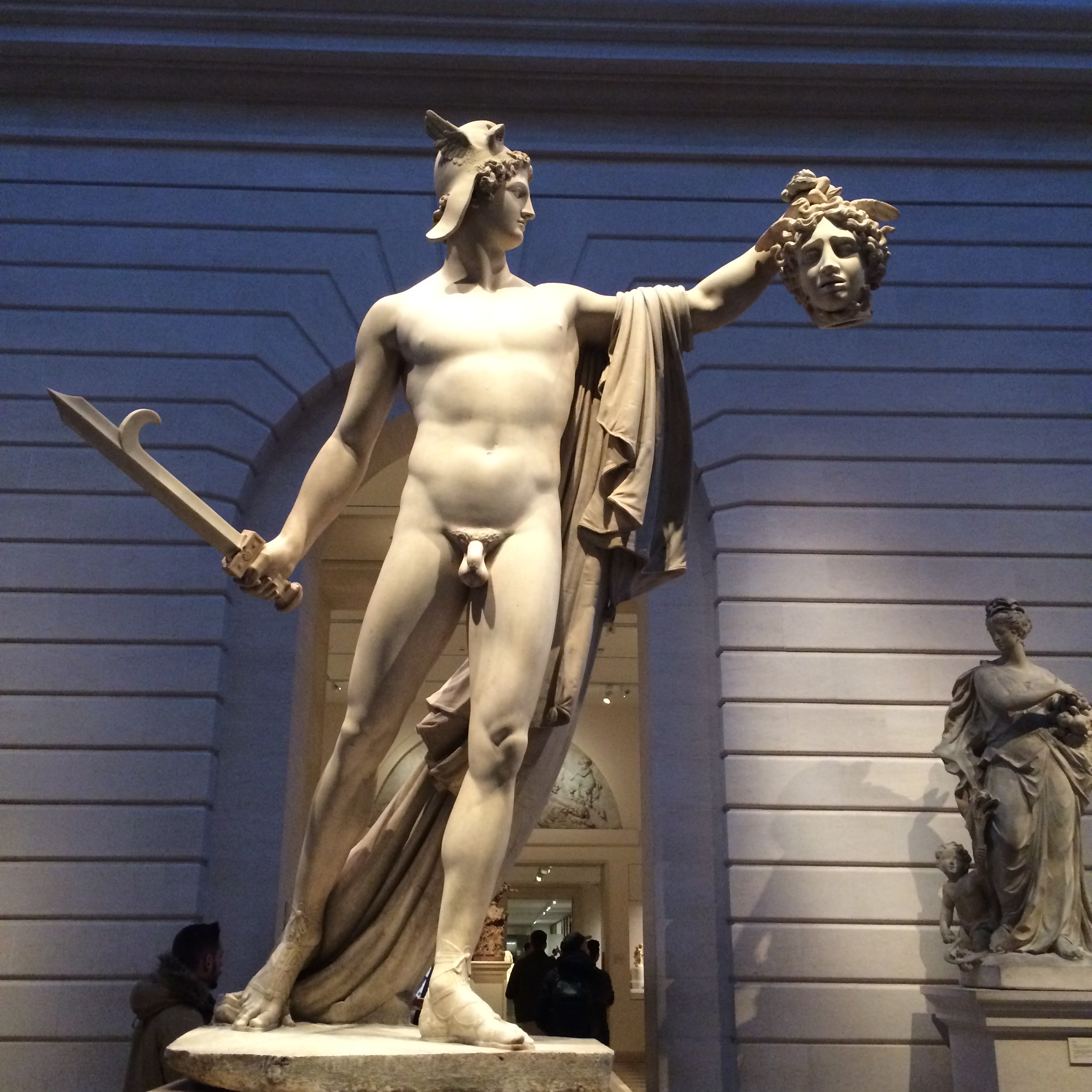 Perseus takes Medusa's head and looks so good doing it!