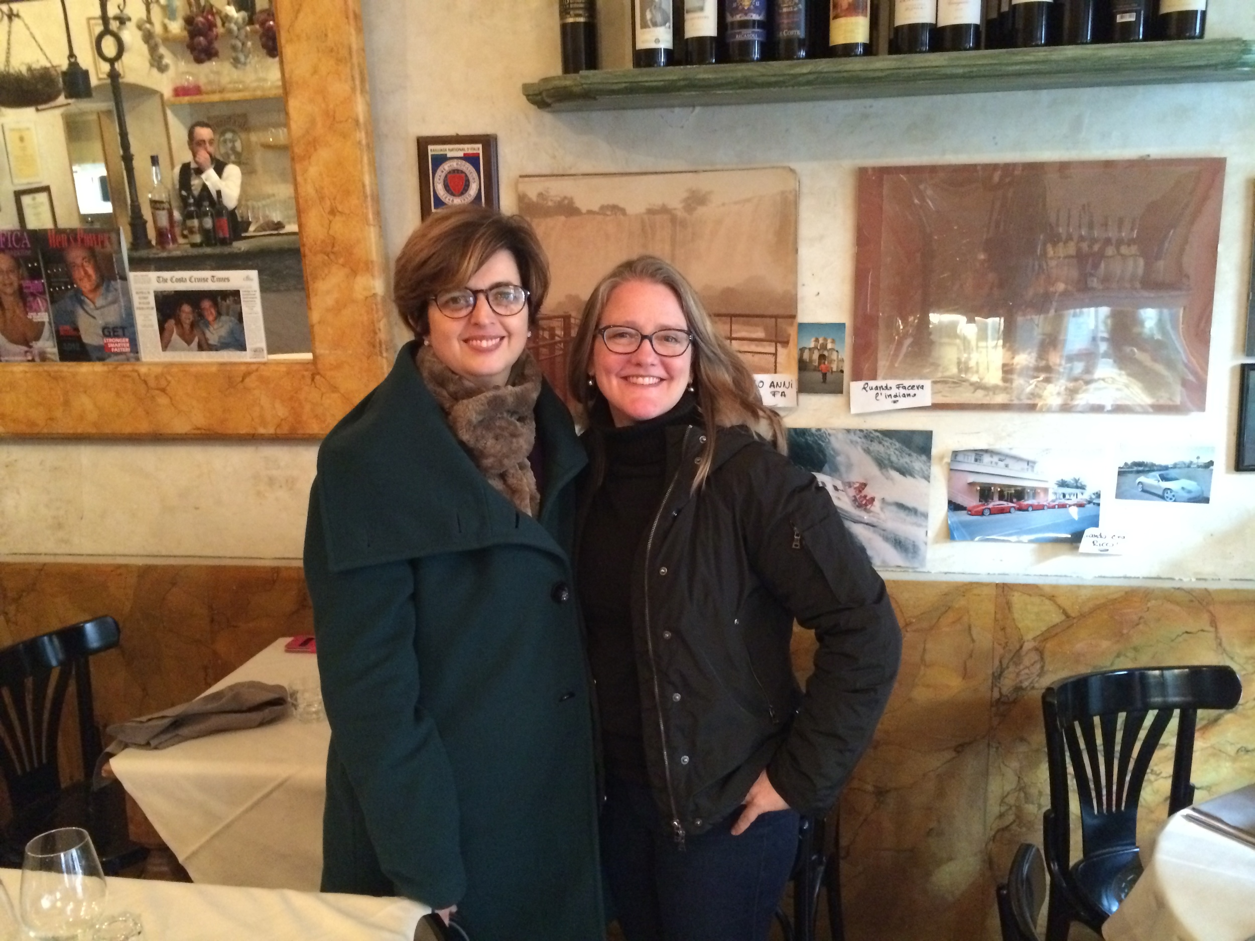 With  Paola Angelini  of   Guided Florence Tours  , who expertly guided me to all Michelangelo's hiding places, and who I hope will create her own Time Traveler Tour one day. Her topic: Renaissance women!