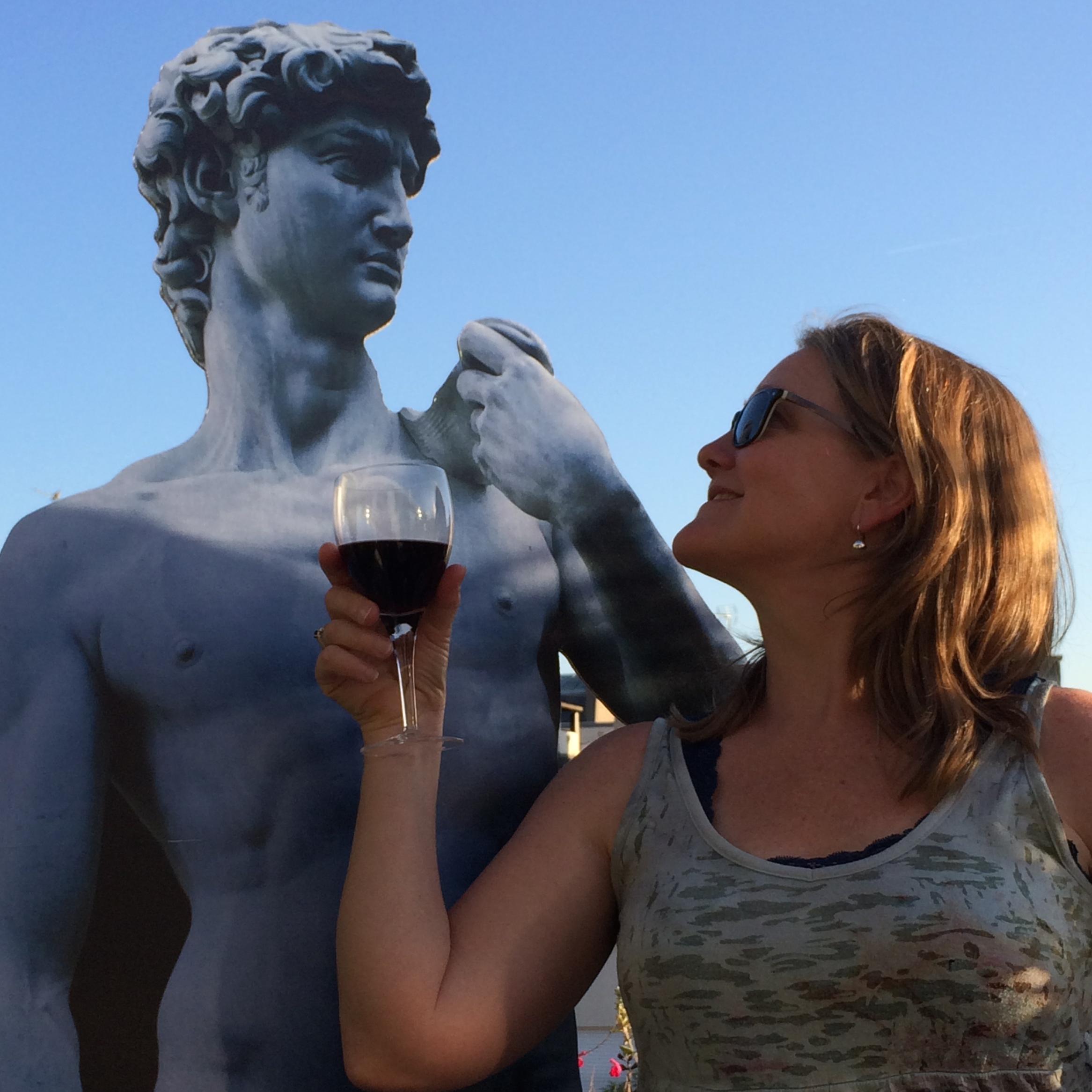 Sarah and David, Florence, June 2015.