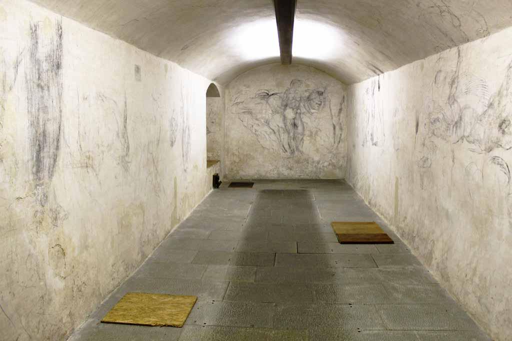 Michelangelo's Hiding Place
