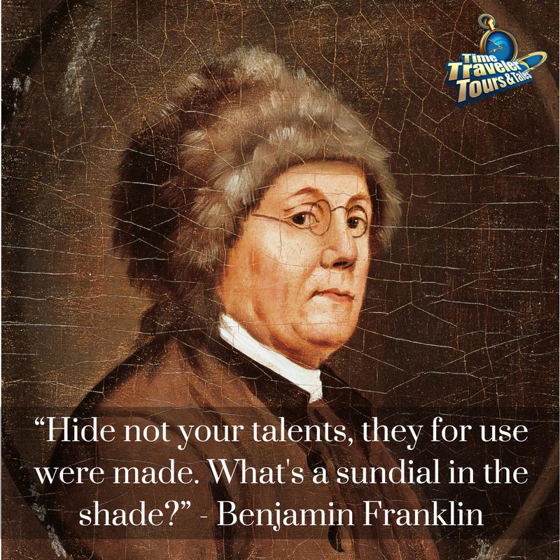 #HistoryHero Ben Franklin