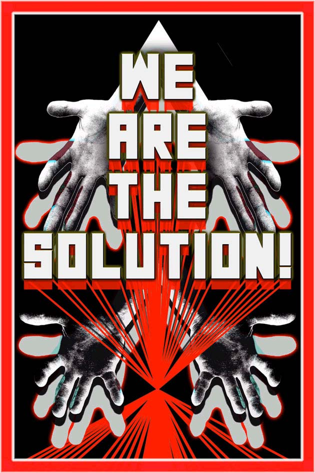 Mark Titchner  We are the solution 2006