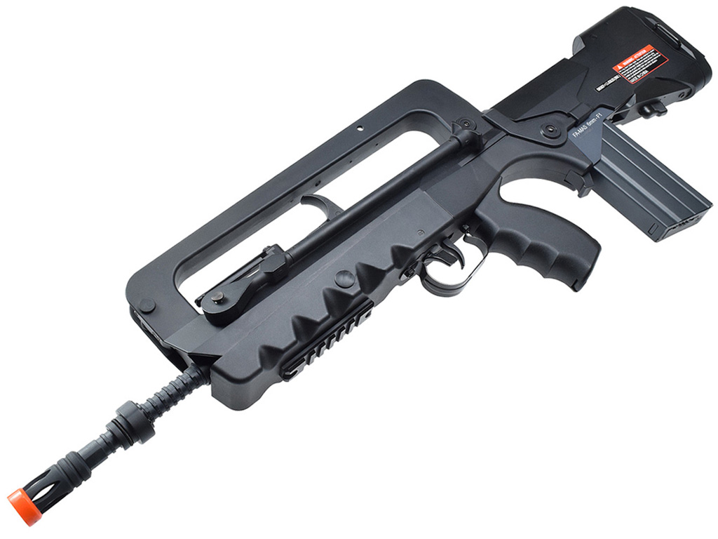 Cybergun Famas AEG Airsoft Rifle Left Side Angle Down.jpg