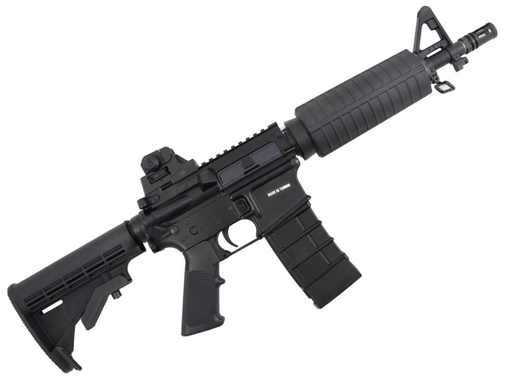 KJWorksM4 CQB Carbine GBB Airsoft Rifle Right Side.jpg