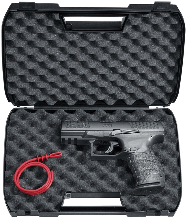 Umarex Walther PPQ M2  43 Cal  Paintball Pistol Table Top